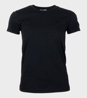 Moncler T-shirt Girocollo Black - dr. Adams