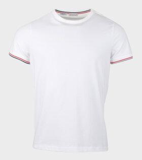 Moncler Maglia Slim-fit T-Shirt White - dr. Adams