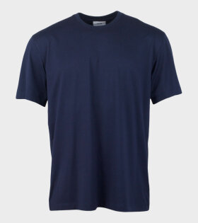Y-3 M B Logo T-shirt Navy - dr. Adams