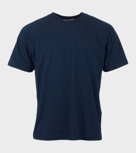 Acne Studios Emeril Reverse Label T-shirt Navy - dr. Adams