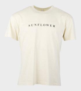 Sunflower Base Logo T-shirt Yellow - dr. Adams