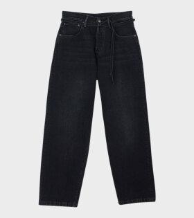 Acne Studios 1991 Vintage Jeans Black - dr. Adams
