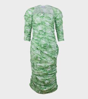 Ganni Show Dress Island Green - dr. Adams