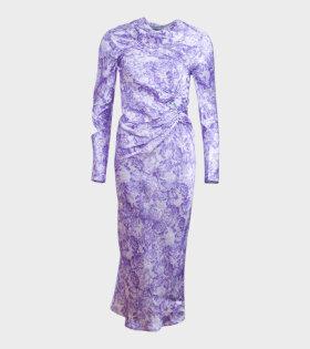 Ganni Show Dress Purple - dr. Adams