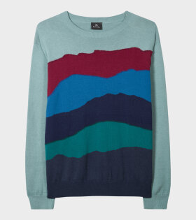 Paul Smith Men's Sunset Stribe Knit Multicolor - dr. Adams