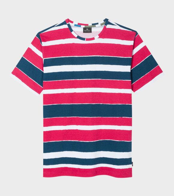 Men's Stribe T-shirt Red
