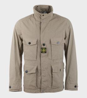 Stone Island Cotten / Cordura® Jacket Beige - dr. Adams