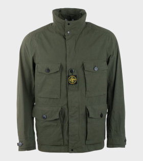 Stone Island Cotten / Cordura® Jacket Green - dr. Adams