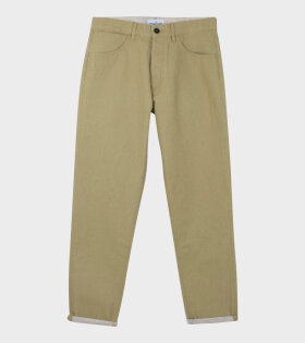 PANAMA PLACCATO RE-T J02J1T Jeans Brown - dr. Adams