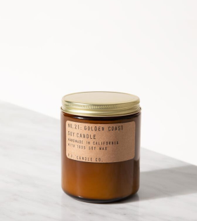 P.F. Candle Co. No.21 Golden Coast Candle - dr. Adams