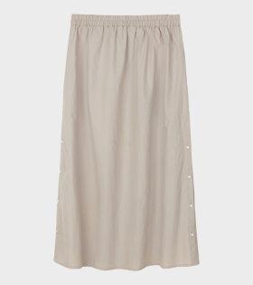 Aiayu Nova Skirt Beige - dr. Adams