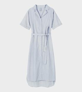 Aiayu Agnes Dress Blue Glass - dr. Adams