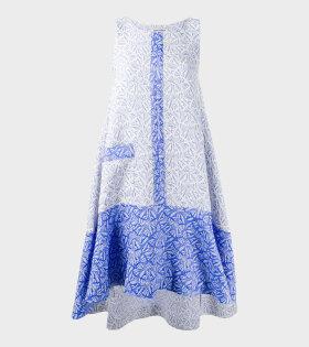 Henrik Vibskov Re-Lenka Dress Blue - dr. Adams