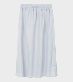 AiayuNova Poplin Skirt Blue  - dr. Adams