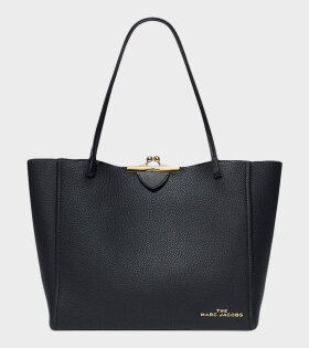 Marc Jacobs Kiss Lock Tote Black - dr. Adams