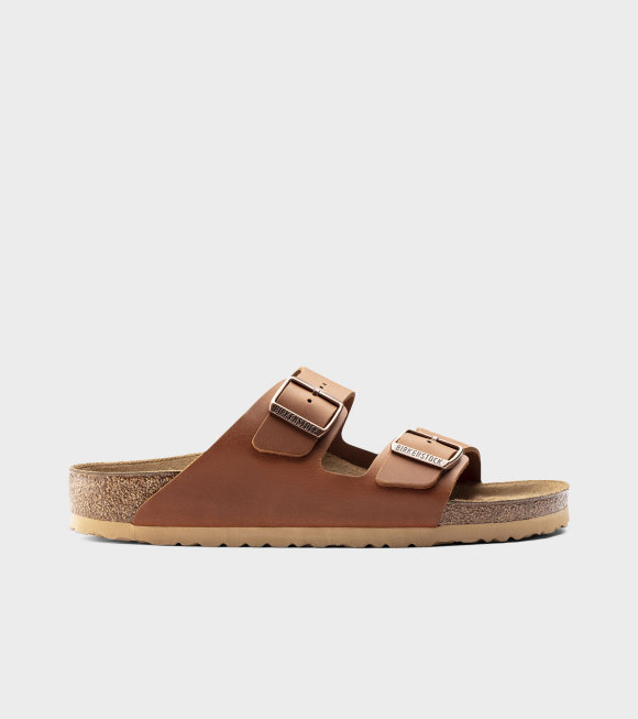 Birkenstock - Arizona NL Antique Pull Cognac