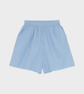 Skall Studio Calder Shorts Blue Chambray - dr. Adams