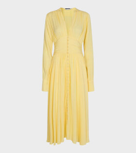 Rotate Tracy Long Dress Yellow - dr. Adams