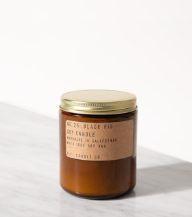 P.F. Candle Co. No.28 Black Fig Candle - dr. Adams