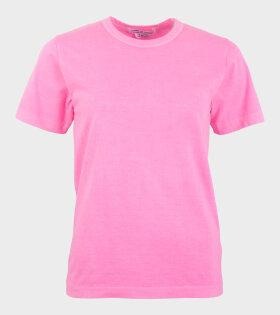 Comme des Garcons S/S T-shirt Pink - dr. Adams