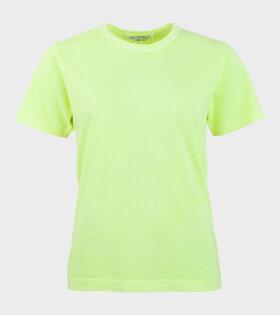 Comme des Garcons S/S T-shirt Yellow - dr. Adams