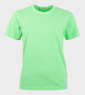Comme des Garcons S/S T-shirt Green - dr. Adams