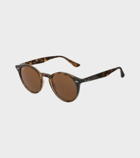 Ray-Ban RB2180 Round Glasses Brown Classic - dr. Adams