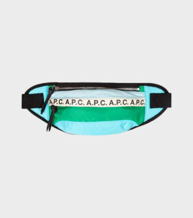 A.P.C Repeat Banane Bum Bag Multicolor - dr. Adams