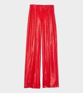 Saks Potts Lissay Pants Red Shimmer - dr. Adams