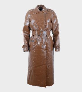 Saks Potts Caliente Coat Brown - dr. Adams