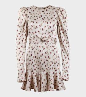 Rotate Shelly Dress Rasberry - dr. Adams