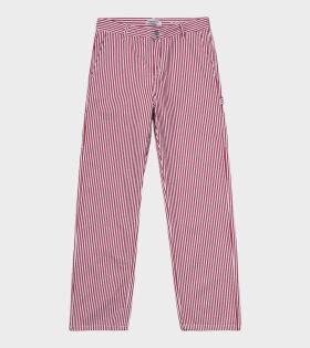 Carhartt WIP Pierce Pant Straight Red - dr. Adams
