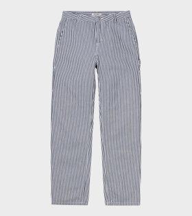 Carharrtt WIP Pierce Pant Straight Blue - dr. Adams
