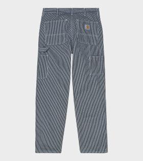 Carhartt WIP Single Knee Pant Blue - dr. Adams