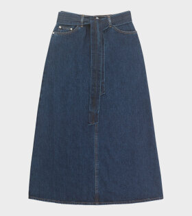 Won Hundred Cara Skirt Blue - dr. Adams