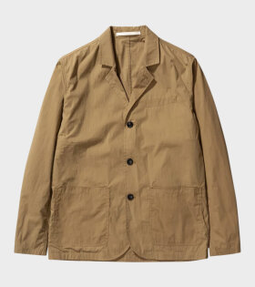 Norse Projects Lars Packable Blazer Khaki - dr. Adams