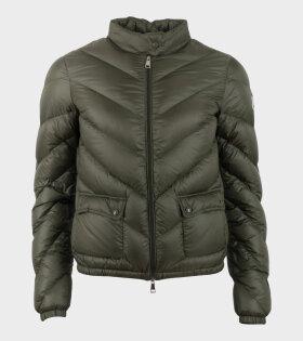 Moncler Lanx Giubbotto Jacket Green - dr. Adams