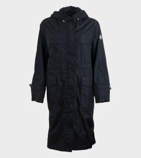 Moncler Ceruleum Giubbotto Jacket Black - dr. Adams