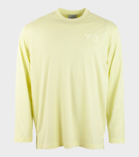 CL Logo L/S T-shirt Yellow