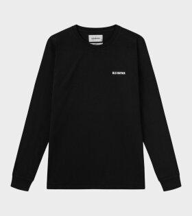 Essentail Logo L/S T-shirt Black
