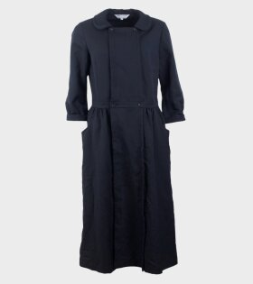 Comme des Garcons Long Dress Navy - dr. Adams