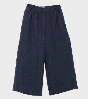 Marimekko Tuulelma Solid Pants Black - dr. Adams