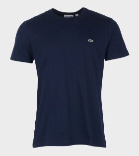 Lacoste Regular T-shirt Blue - dr. Adams