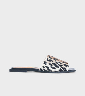 Ganni Slipper Sandals Leopard - dr. Adams