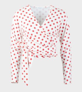 Saks Potts Lis Flamenco Dot Print Top - dr. Adams