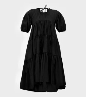 Cecilie Bahnsen Esme Dress Black - dr. Adams