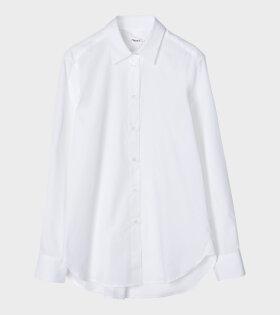 Filippa K Jane Shirt White - dr. Adams
