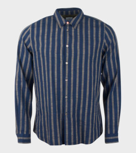 Poul Smith, Mens Shirt Tailored Blue - dr. Adams