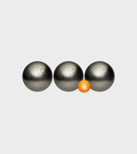 Carhartt WIP Petanque Boule Set Steel - dr. Adams