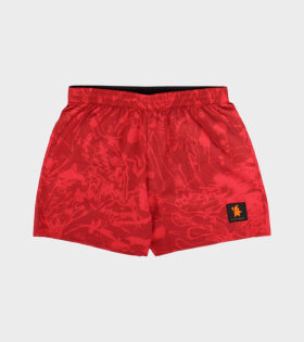 Le Fix X SaySky LFXSaySky Shorts Red - dr. Adams